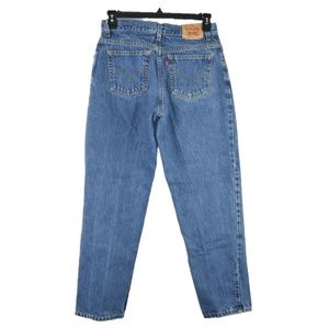 Levis 550 Classic Relaxed Fit Jean Womens Sz 12X30